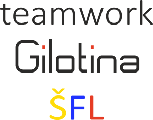 SPOLUPRÁCE Gilotina ŠFL logo
