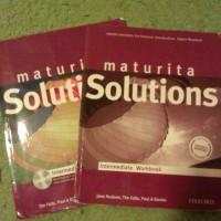 Maturita Solutions Intermediate - učebnice, pracovní sešit, CD