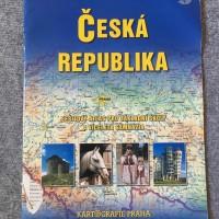 ČESKÁ REPUBLIKA; sešitový atlas pro základní školy a víceletá gymnázia; Kartografie Praha